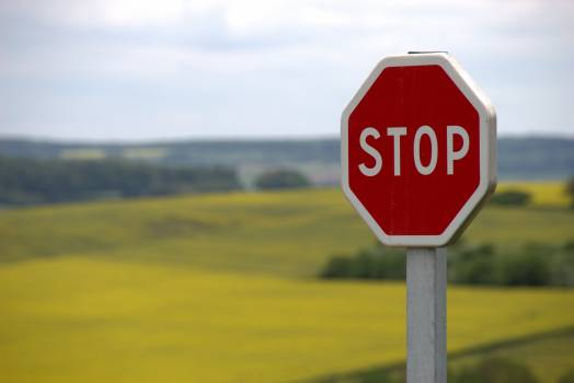 Red Stop Sign #336182