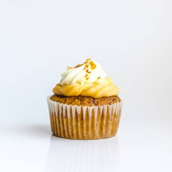 Cupcake Topped With White Frosting #336324