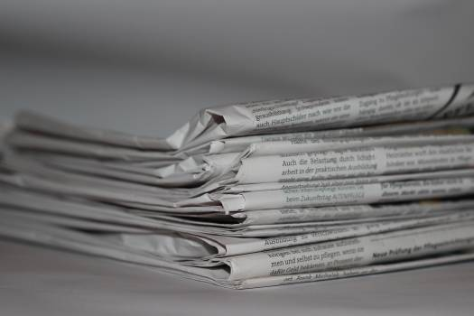 Folded Newspapers #336574