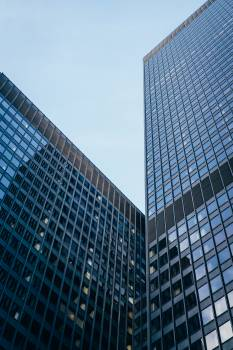 Low Angle Photography of High-Rise Buildings #336592