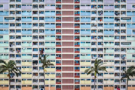 Multi-colored Building Free Photo