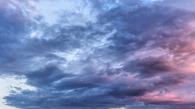 Scenic View of Clouds During Dawn Free Photo