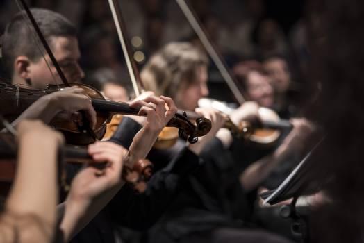People Playing Violin #33785