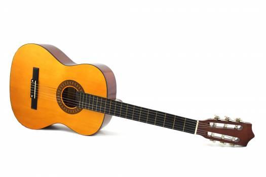 Brown Dreadnought Classical Guitar Free Photo