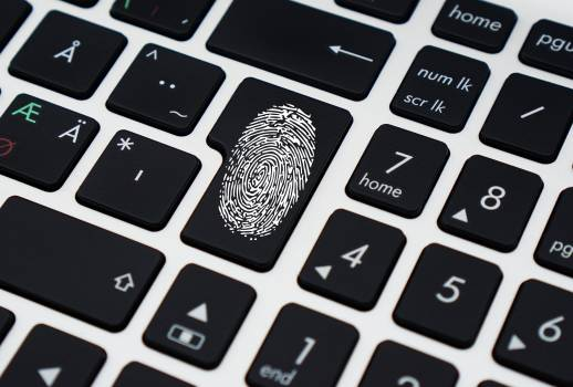 Finger Print on Enter Key of Keyboard #338358