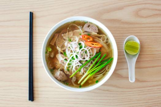 Food Photography of Ramen Noodle Free Photo