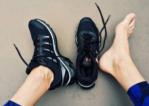 Black Under Amour Sneakers Free Photo
