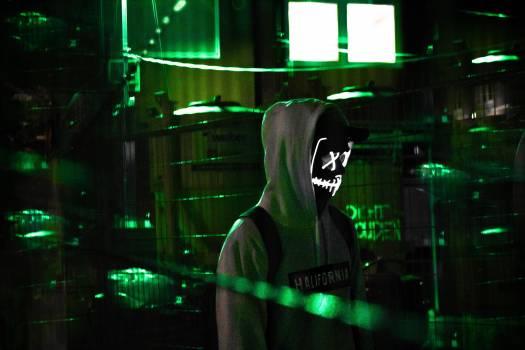 Person Wearing Grey Hoodie Jacket Free Photo