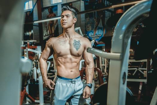 Man Inside Gym #338654