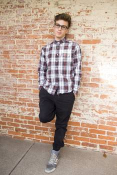 Man Wearing Red And White Plaid Dress Shirt And Black Pants Free Photo