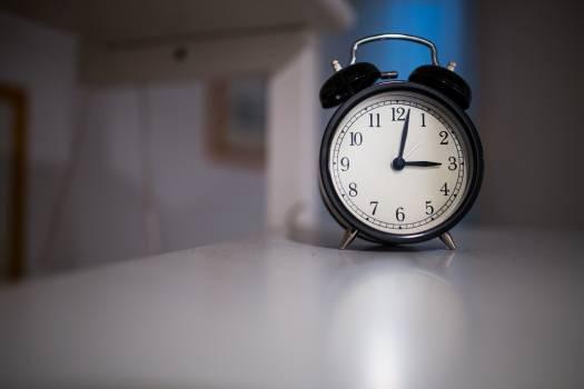 Time clock sleep count Free Photo