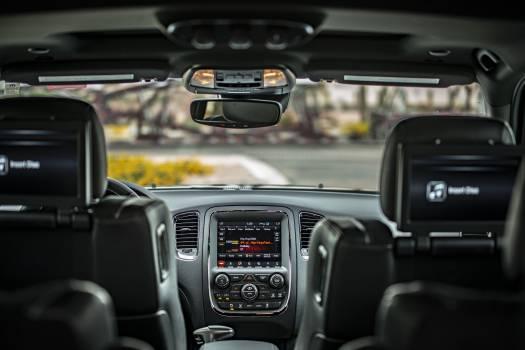 Black Car Interior Free Photo