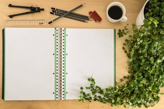 White Ruled Book Free Photo