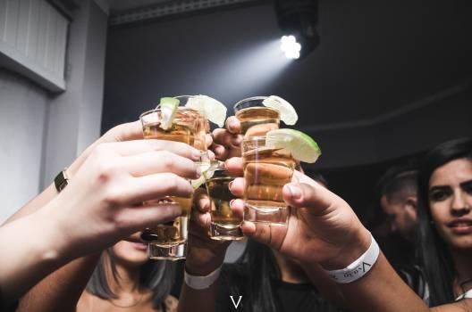 Photo of People Doing Cheers Free Photo