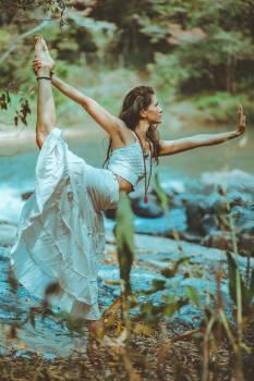 Woman Bending Free Photo