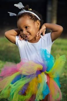 Photo of Cute Girl in Tutu Free Photo