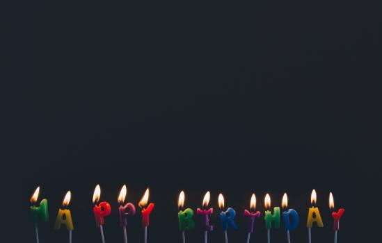 Happy Birthday Candles #33997