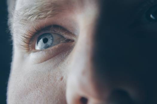 Close-Up Photography of Eye Free Photo
