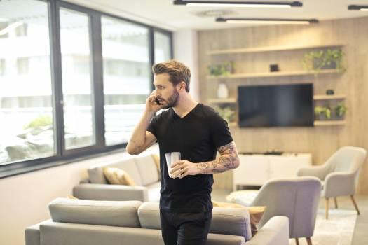 Man Calling on Phone #340135