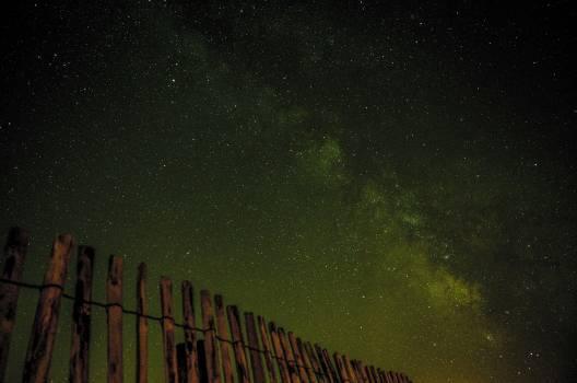 Nature lights night space Free Photo