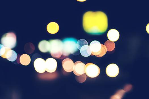 Bokeh Photography of Different Colored Lights Free Photo