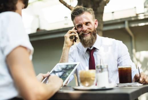 Man Using Smartphone #341413