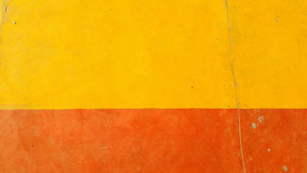 Orange and Yellow Painted Wall #341527