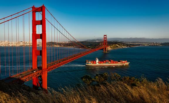 Golden State Bridge, California #341529