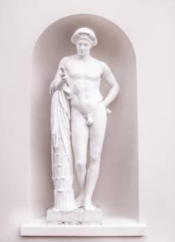Naked Man Statue Free Photo