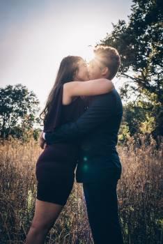 Couple Kissing Free Photo