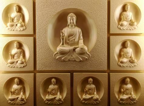 Gautama Buddha Wall Decor Free Photo
