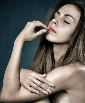 Topless Woman Portrait #34287