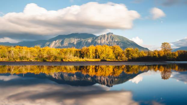 Reflection Sky Landscape Free Photo