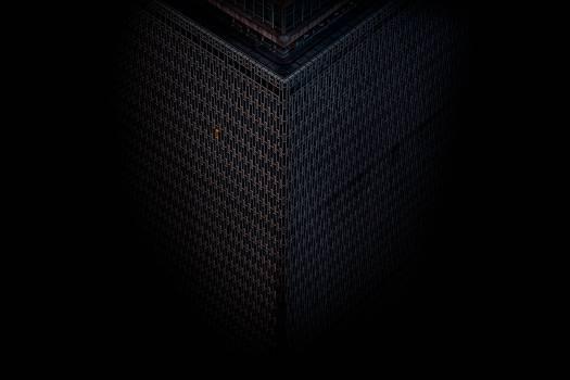 Texture Pattern Black #343504
