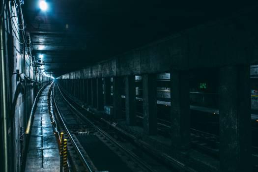Underground Train Railway Free Photo