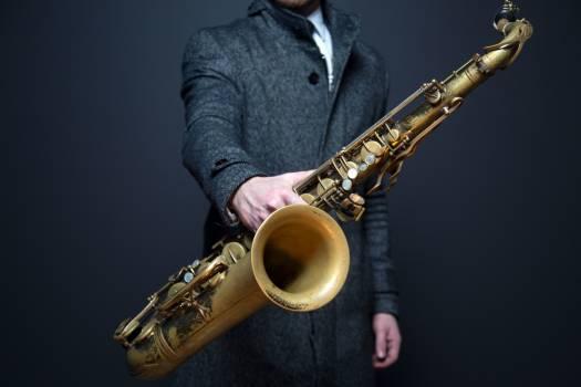 Musical instrument man trumpet artist #34425