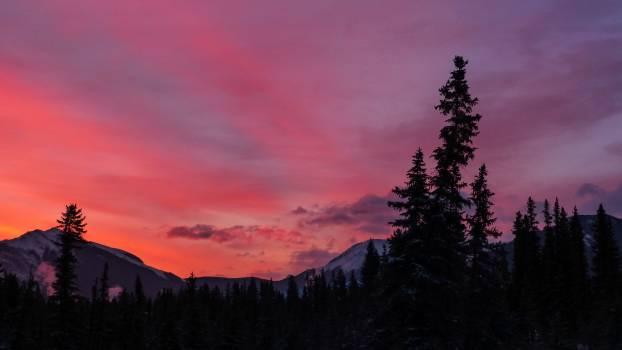 Landscape Sky Mountain #344544