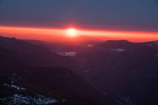 Mountain Volcano Sun #346868