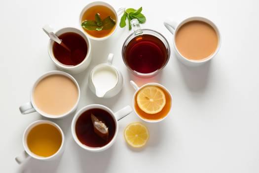 Tea Circle Buttons Free Photo
