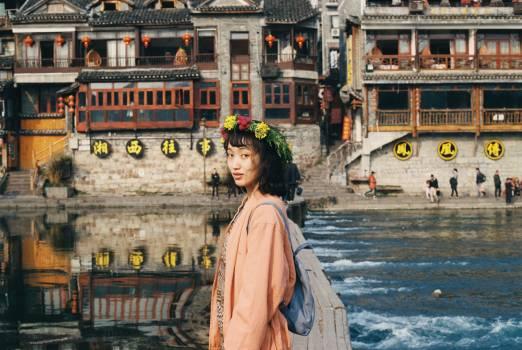 Tourist Traveler Monk Free Photo