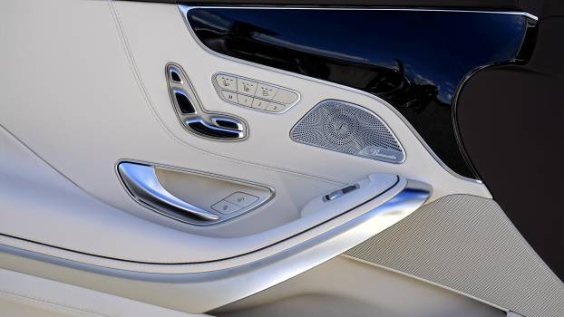 Automobile benz button car #34957