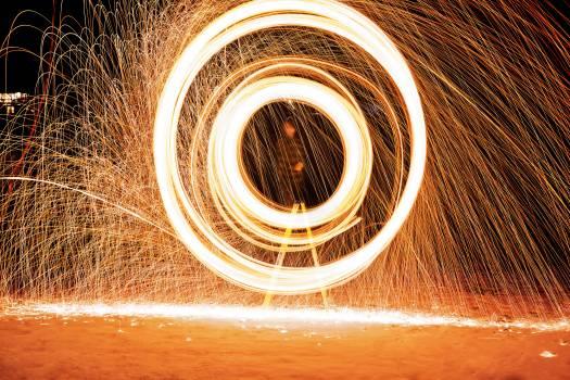 Fire effect ring light #35083