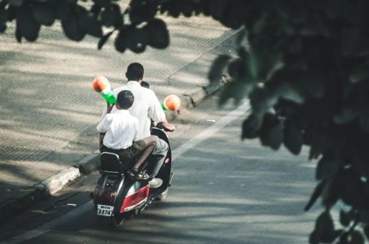 Motor scooter Wheeled vehicle Vehicle Free Photo