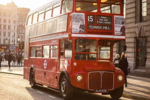 Light cars traffic bus #35289