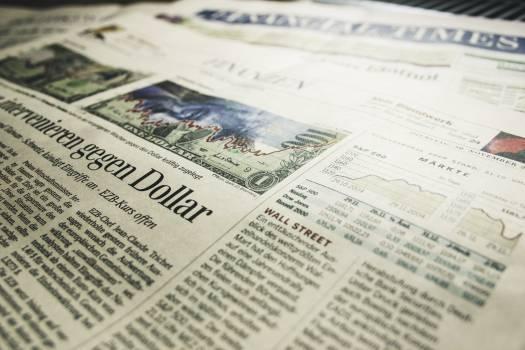 Gegen Dollar Newspaper Article #35304