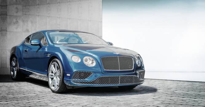 Blue Chrysler Coupe #35342