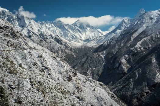 Glacier snow mountains sunny #35389