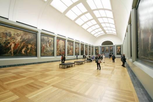 Exhibit Painting Display Free Photo