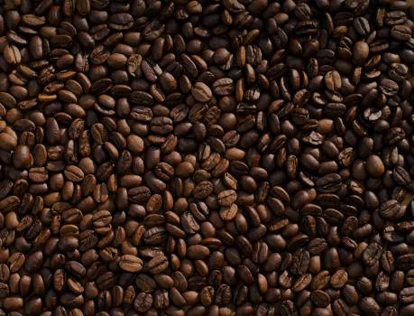 Coffee beans brown roasted #35397