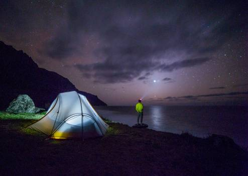 Tent night adventure camping #35409